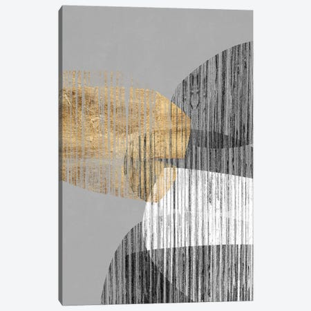 Adjacent Shapes I Canvas Print #JGO982} by Jennifer Goldberger Canvas Artwork