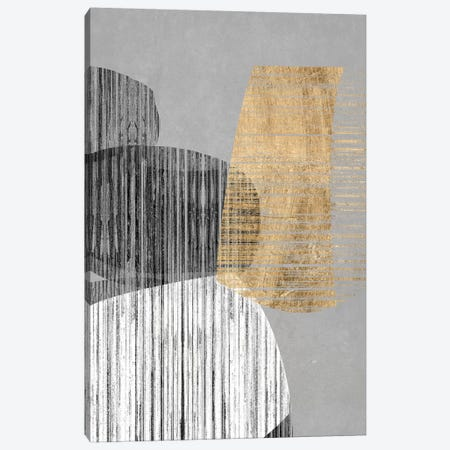 Adjacent Shapes II Canvas Print #JGO983} by Jennifer Goldberger Canvas Art
