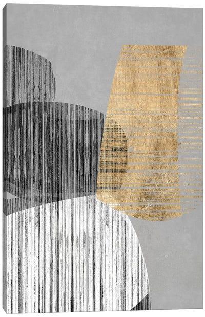 Adjacent Shapes II Canvas Art Print