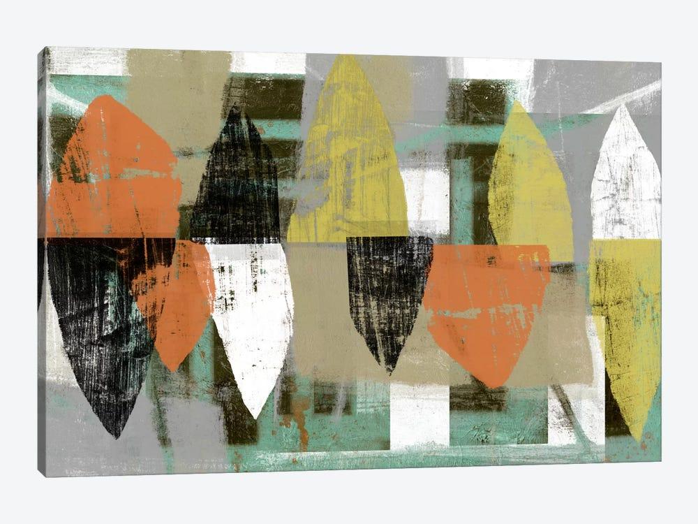 Shape Stack I by Jennifer Goldberger 1-piece Canvas Artwork