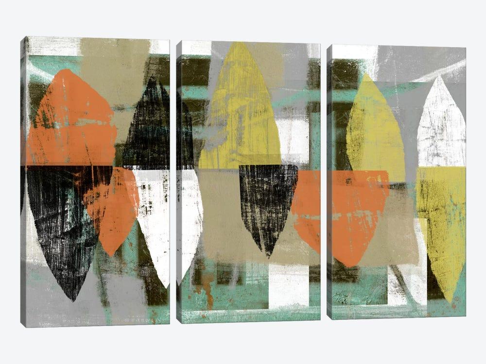 Shape Stack I by Jennifer Goldberger 3-piece Canvas Art