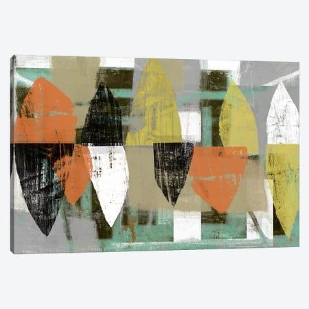 Shape Stack I 3-Piece Canvas #JGO98} by Jennifer Goldberger Art Print