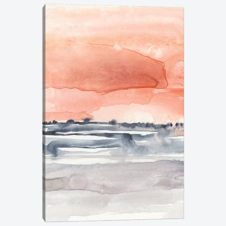 Coral Sky II Canvas Print #JGO995} by Jennifer Goldberger Canvas Artwork
