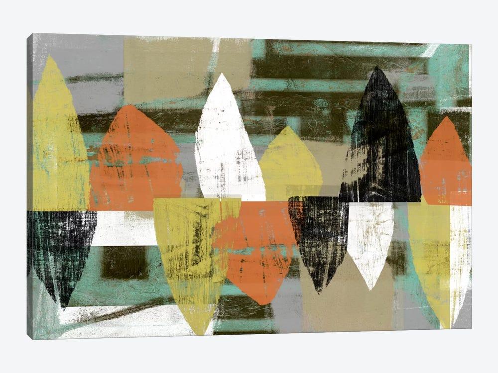 Shape Stack II by Jennifer Goldberger 1-piece Canvas Print