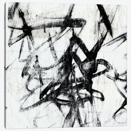 Monotype Scribble I Canvas Print #JGO9} by Jennifer Goldberger Art Print