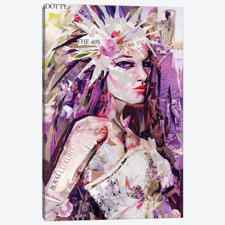 Ice Flower Canvas Print #JGR10} by James Grey Canvas Art