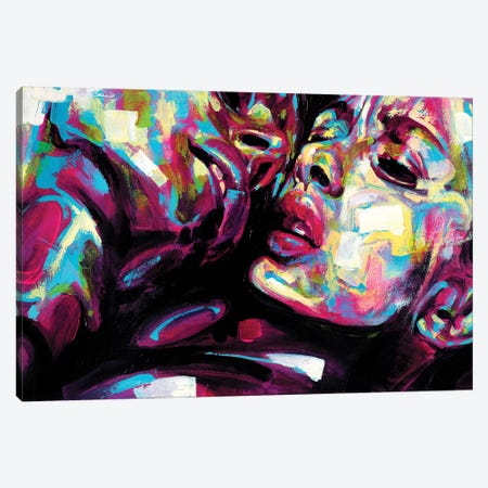 Passion Canvas Print #JGR12} by James Grey Canvas Artwork