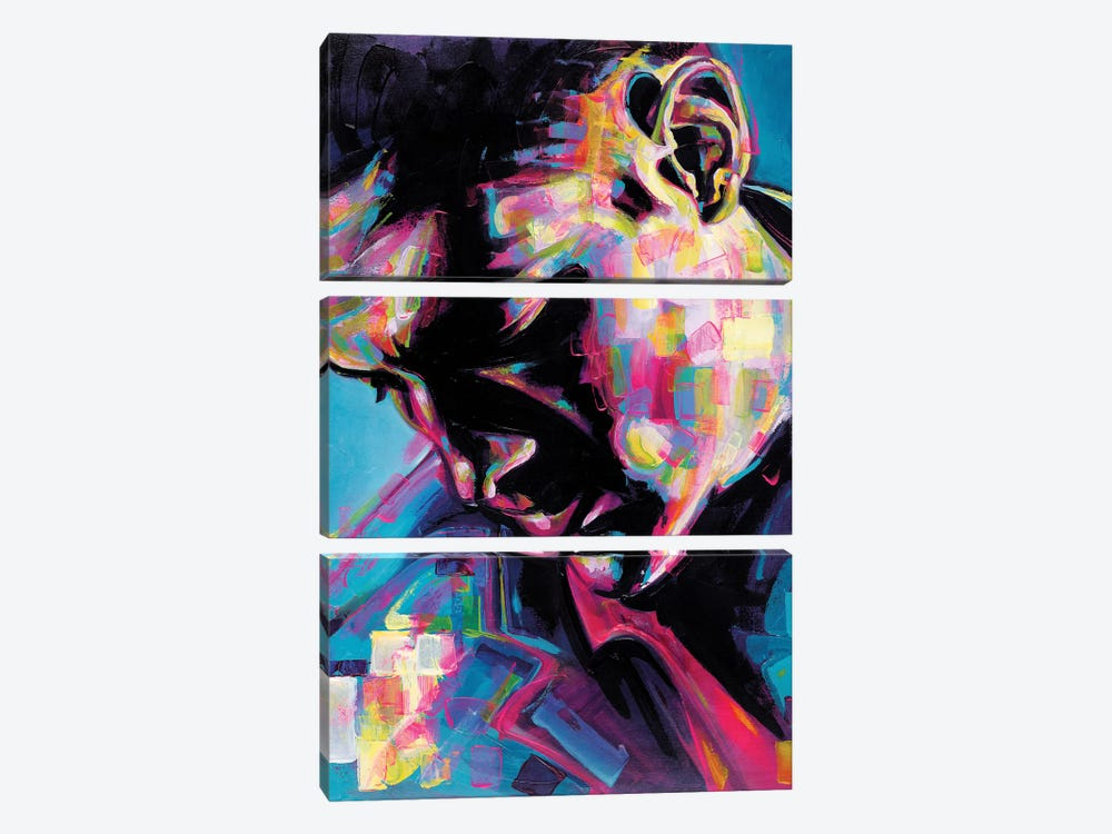 Poser by James Grey 3-piece Canvas Wall Art