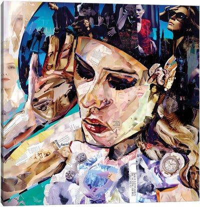 Should Women Act Canvas Print #JGR15