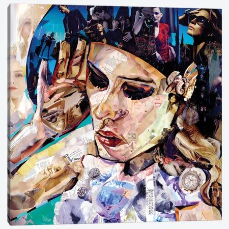Should Women Act Canvas Print #JGR15} by James Grey Canvas Art Print