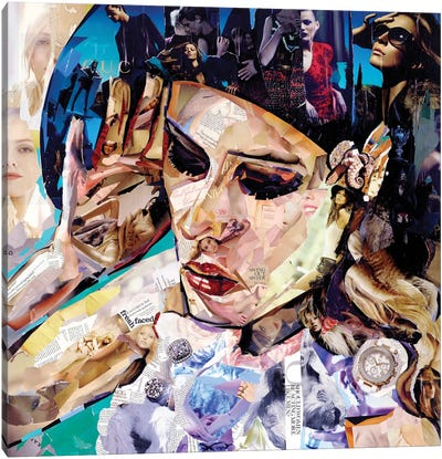 Should Women Act Canvas Art Print