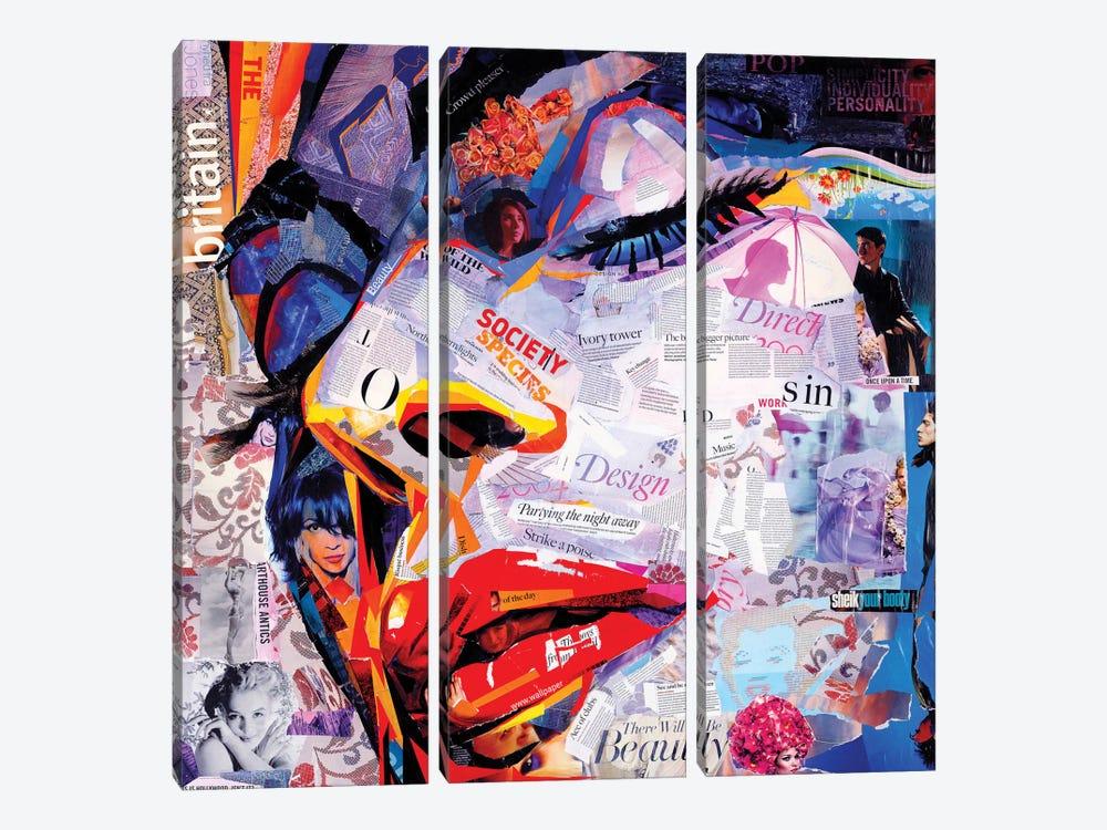 Society by James Grey 3-piece Canvas Artwork