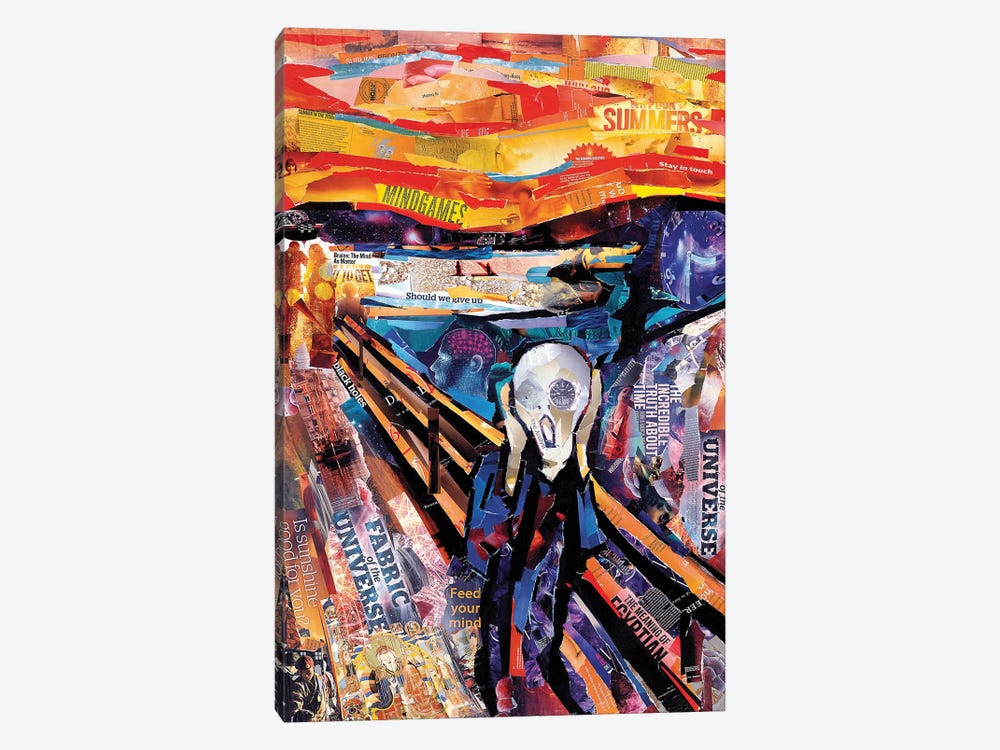The Scream (Homage To Munch) by James Grey 1-piece Canvas Print