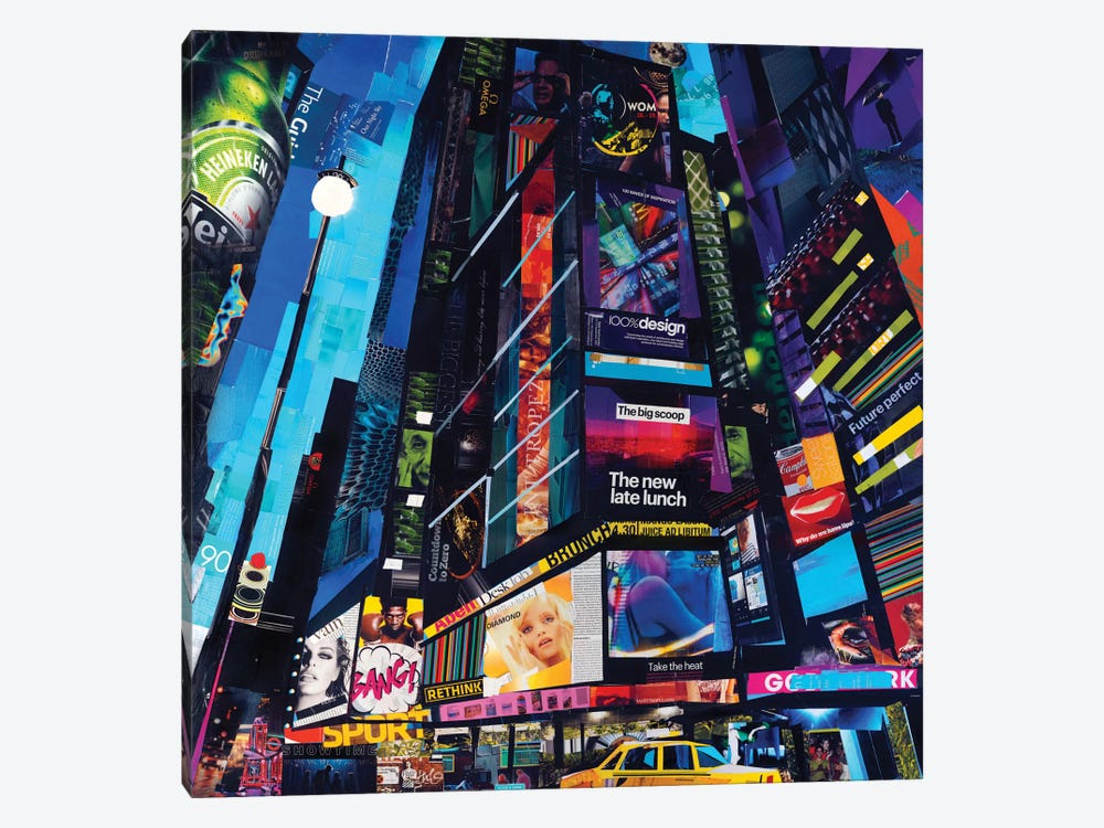 City Night by James Grey 1-piece Canvas Print