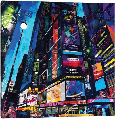 City Night Canvas Art Print