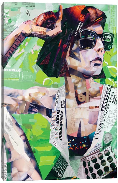 Cool Canvas Art Print