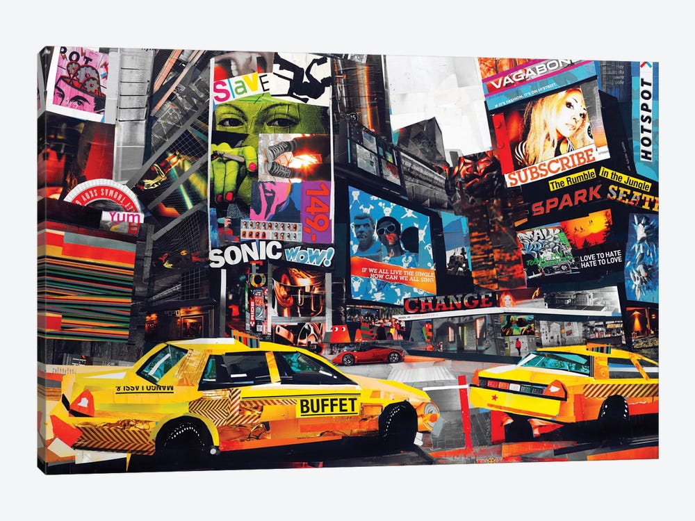 Downtown by James Grey 1-piece Art Print