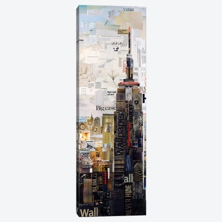 Empire State Canvas Print #JGR6} by James Grey Canvas Wall Art