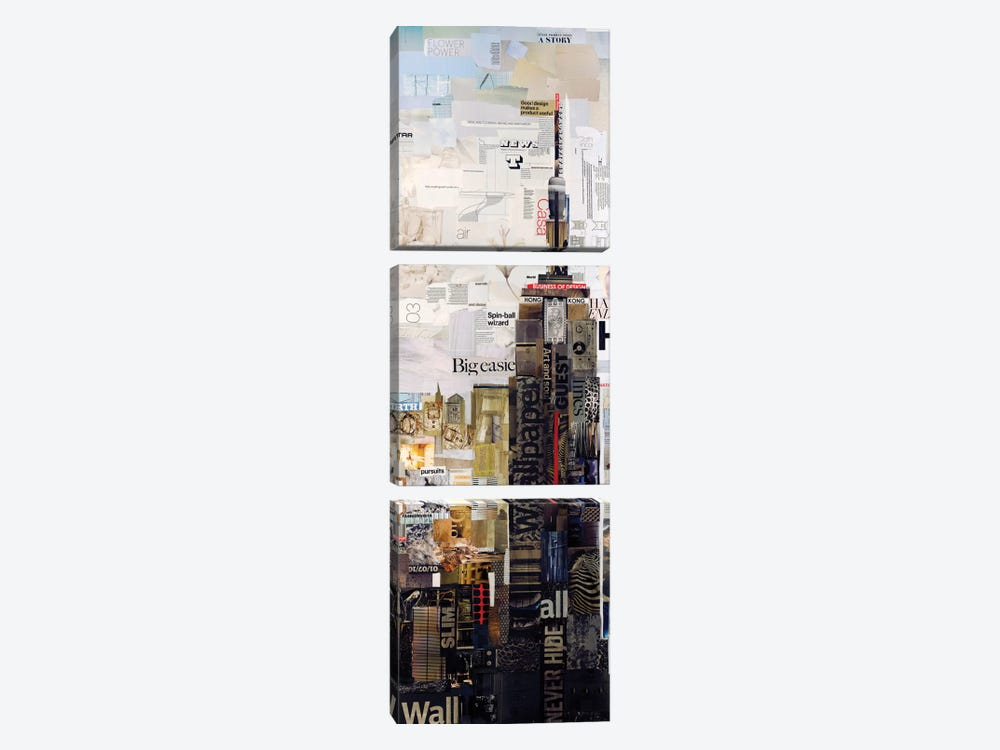 Empire State by James Grey 3-piece Canvas Art Print