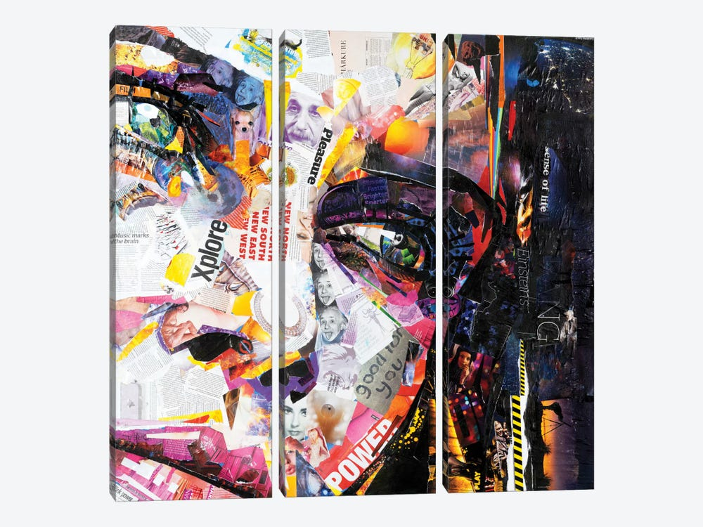 Fashion by James Grey 3-piece Canvas Wall Art