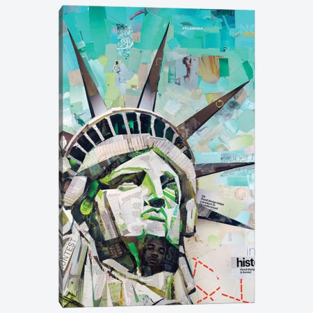 Freedom Canvas Print #JGR8} by James Grey Canvas Print