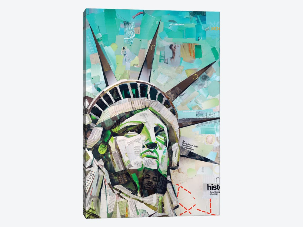Freedom by James Grey 1-piece Canvas Art Print