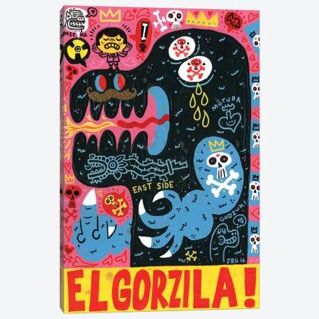 Monstro Canvas Print #JGU10} by Jorge R. Gutierrez Canvas Art Print