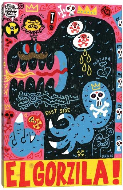 Monstro Canvas Art Print