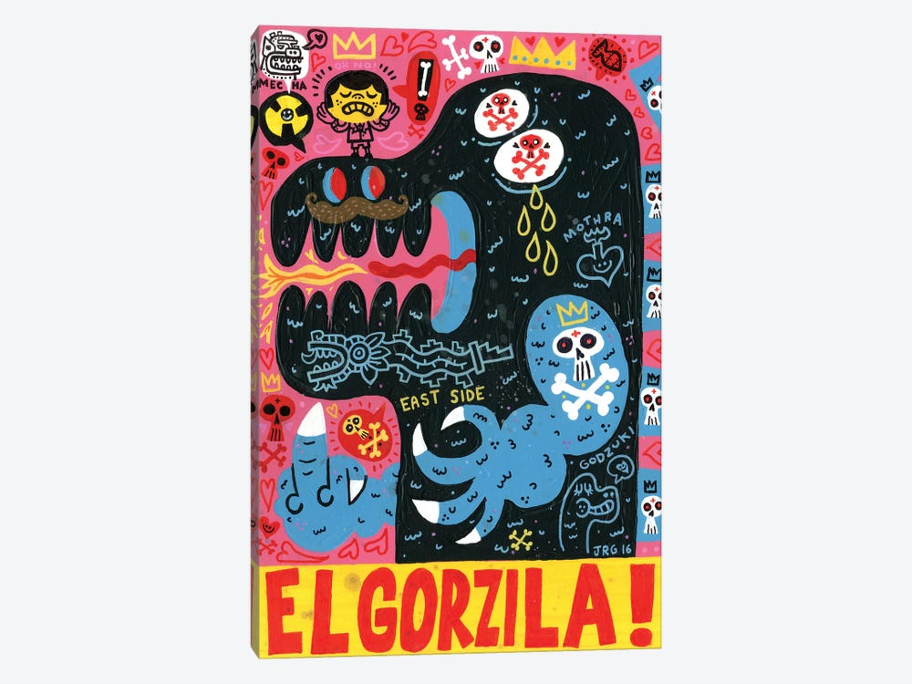 Monstro by Jorge R. Gutierrez 1-piece Art Print