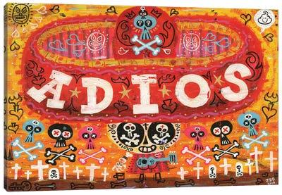 Adios Amigos Canvas Print #JGU1