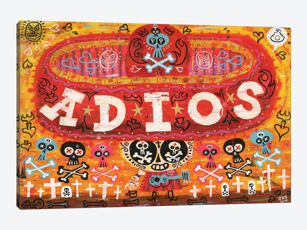 Adios Amigos by Jorge R. Gutierrez 1-piece Art Print