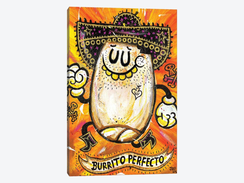 Burrito Perfecto by Jorge R. Gutierrez 1-piece Canvas Art