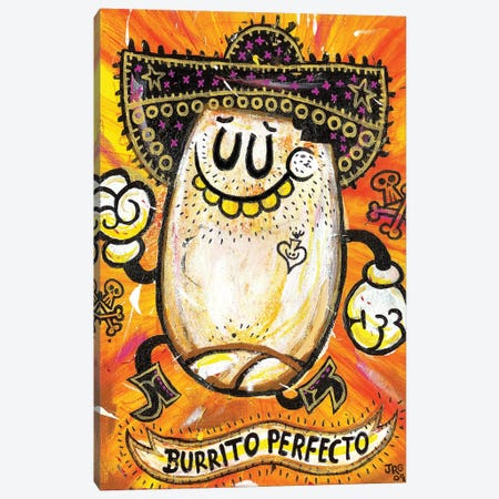 Burrito Perfecto Canvas Print #JGU2} by Jorge R. Gutierrez Canvas Art