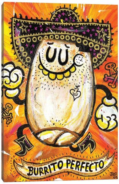 Burrito Perfecto Canvas Art Print