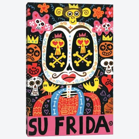 Dolor Feliz Gracias Canvas Print #JGU3} by Jorge R. Gutierrez Canvas Art