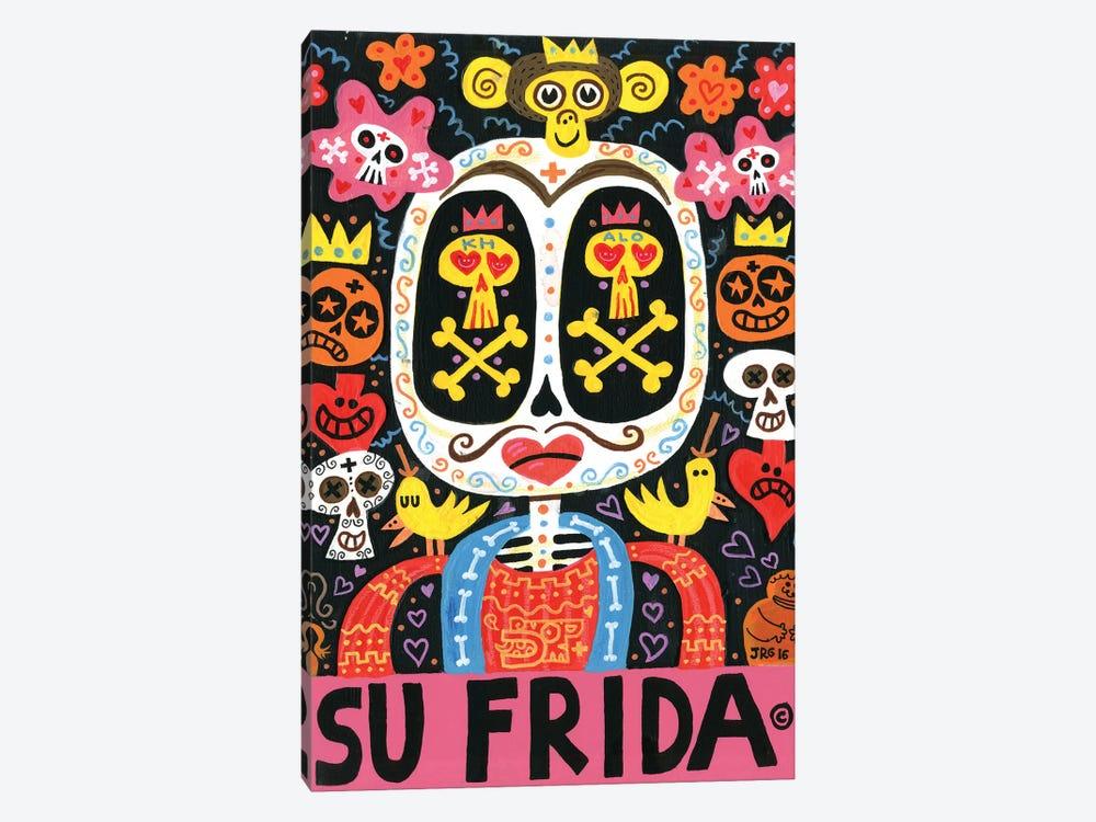 Dolor Feliz Gracias by Jorge R. Gutierrez 1-piece Canvas Art Print