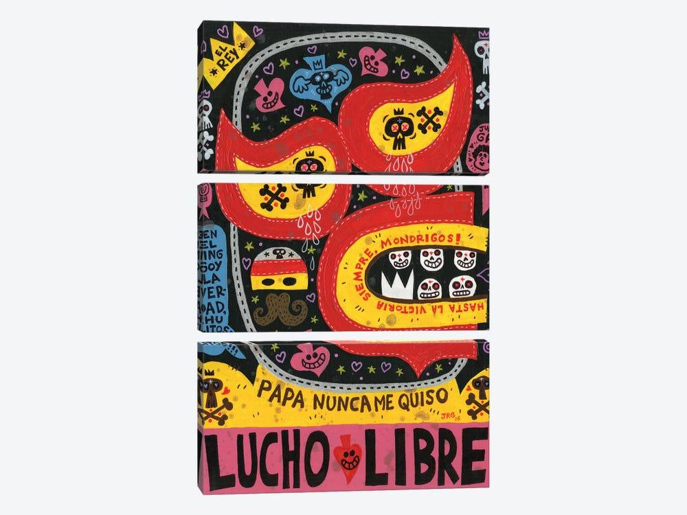 El Fuerte by Jorge R. Gutierrez 3-piece Canvas Artwork