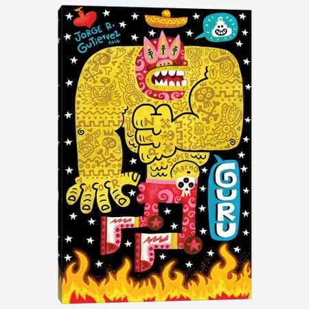 Guru Canvas Print #JGU6} by Jorge R. Gutierrez Art Print
