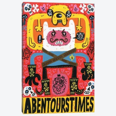 Las Aventuras de Pen Canvas Print #JGU8} by Jorge R. Gutierrez Canvas Wall Art