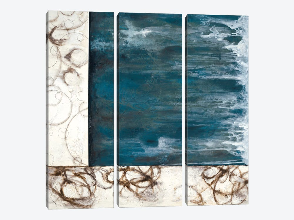 Stream by Julie Havel 3-piece Canvas Wall Art