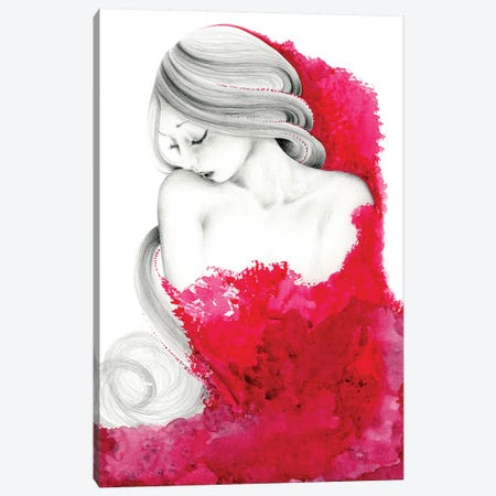 Consumed Canvas Print #JHB11} by Joanna Haber Canvas Art