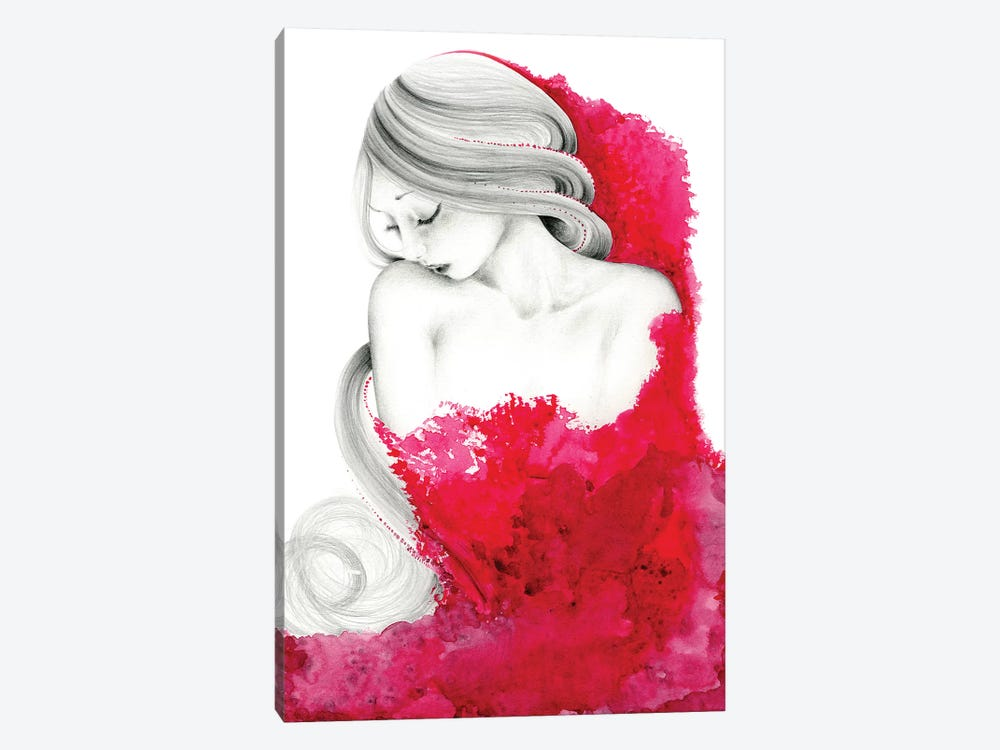 Consumed by Joanna Haber 1-piece Canvas Art Print