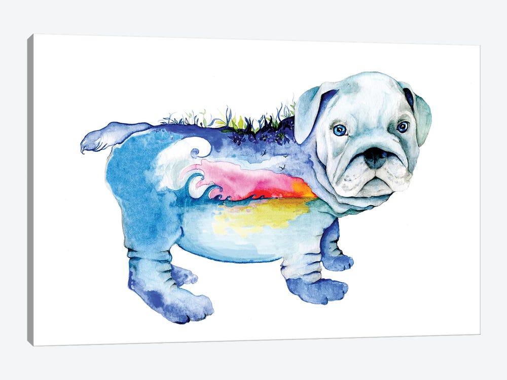 Dog by Joanna Haber 1-piece Canvas Artwork