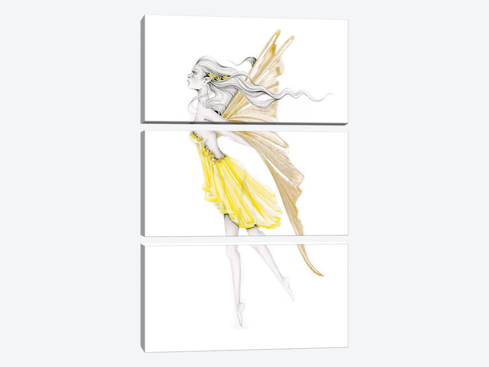 Ethereal by Joanna Haber 3-piece Canvas Art Print