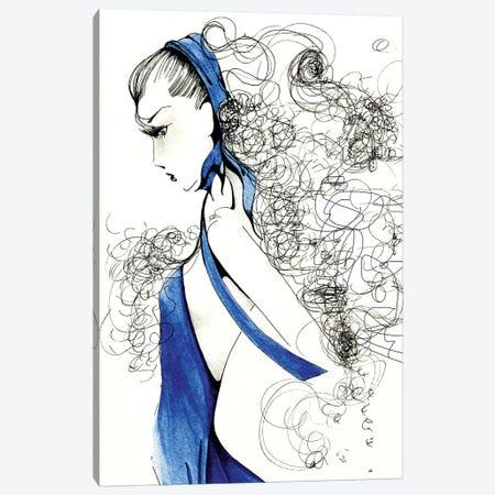 Fierce Canvas Print #JHB16} by Joanna Haber Canvas Art Print