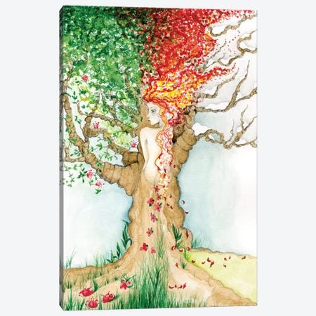 Four Seasons Canvas Print #JHB19} by Joanna Haber Canvas Art