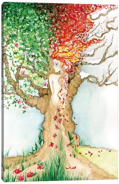 Four Seasons Canvas Art Print