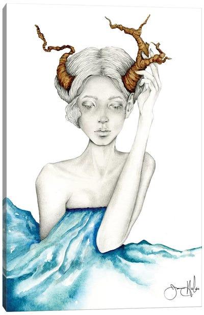 Healing Canvas Art Print
