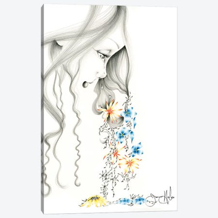 Hurting Canvas Print #JHB27} by Joanna Haber Canvas Art