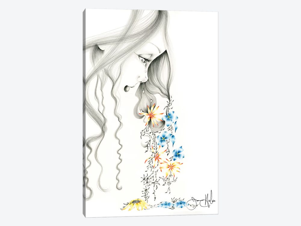 Hurting by Joanna Haber 1-piece Canvas Artwork